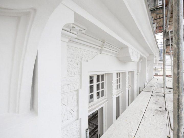 Fassadensanierung & Umbau Theater Nestroyhof in Wien Leopoldstadt