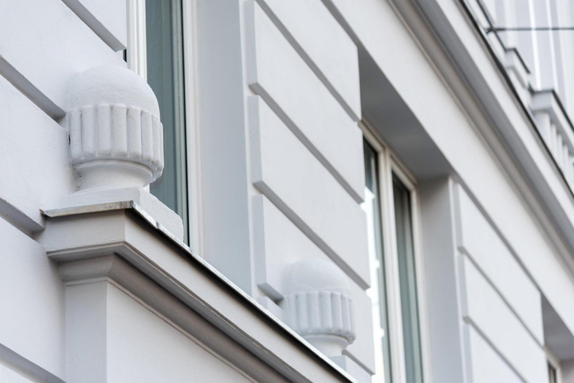 Aufwändige Fassadensanierungen