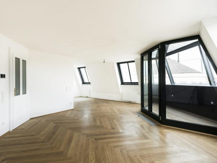 Dachgeschossausbau in Wien Innere Stadt